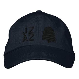 Ichibo-Skee Clupkitz Jazz Black on Blue Embroidered Hats