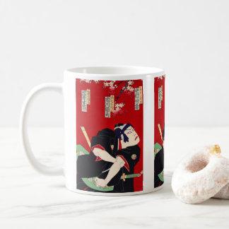 Ichikawa 團 ten 郎, help six Kabuki of flower river Coffee Mug
