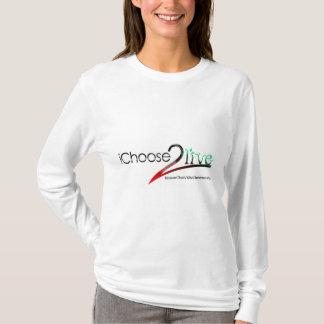 iChoose2live T-Shirt