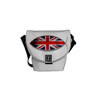 Ichthus - British Flag Courier Bags