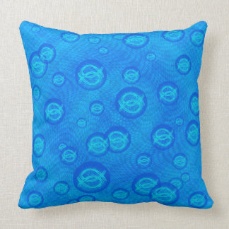 Ichthus Bubbles Cushion
