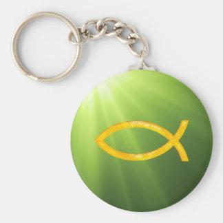 Ichthus - Christian Fish Symbol Key Chains