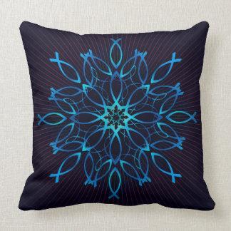 Ichthus Mandala Cushion