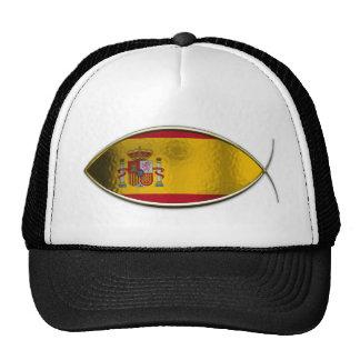 Ichthus - Spanish Flag Trucker Hat