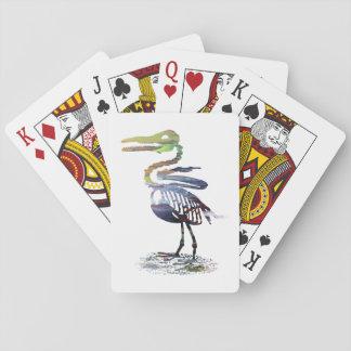 Ichthyornis skeleton playing cards