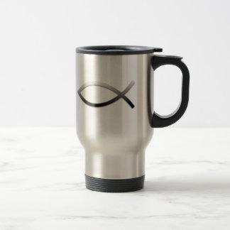 Ichthys Jesus Fish Mugs