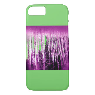 Icicle once differently, i.e. pink and green iPhone 8/7 case