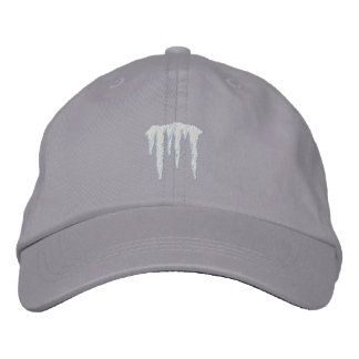 Icicles Embroidered Hat