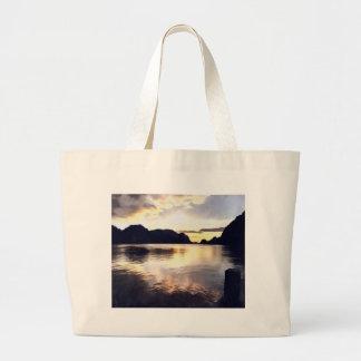 Icmeler Seascape Large Tote Bag