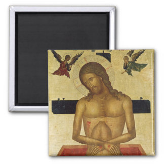 Icon depicting Christ in the tomb Refrigerator Magnets