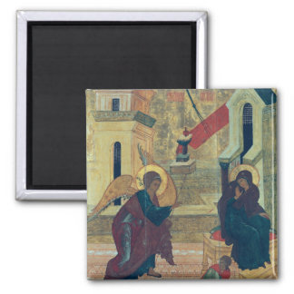 Icon depicting the Annunciation Refrigerator Magnet