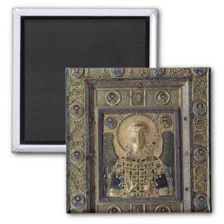 Icon depicting the Archangel Michael Fridge Magnets