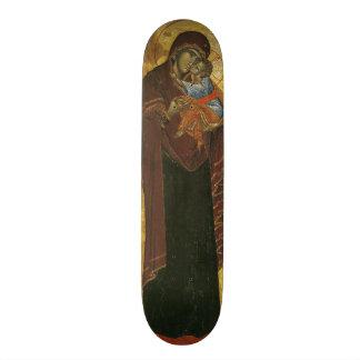 Icon known as the 'Virgin of Tsar Dushan', c.1350 Custom Skate Board