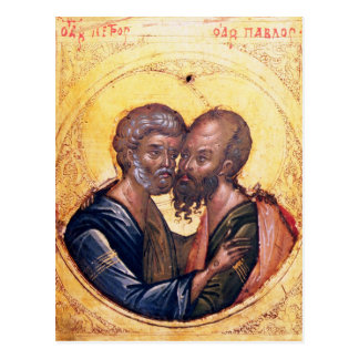 Icon of SS. Peter and Paul Postcard