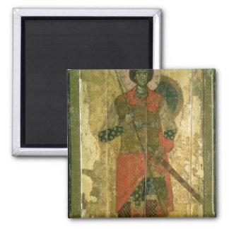 Icon of St. George, 1130-50 Fridge Magnets