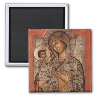 Icon of the Blessed Virgin with Three Hands Refrigerator Magnet