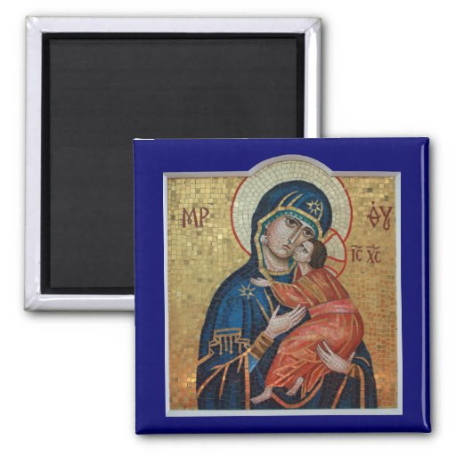 Icon of the Theotokos magnet