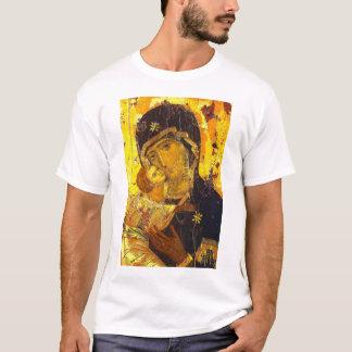 Icon of the Theotokos of Vladimir T-Shirt