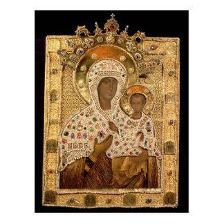 Icon of the Virgin, Smolenskaja monastery Postcard