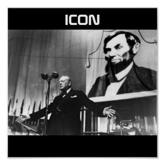 Icon Poster