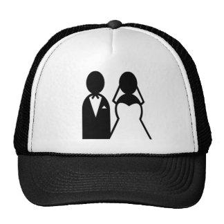 Icon Wedding Couple Cap