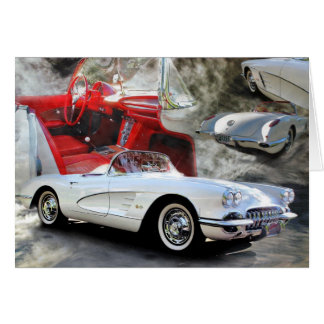 Iconic American Sports Car Card