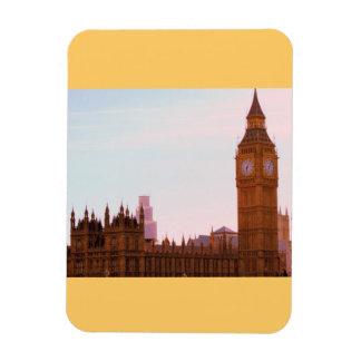 Iconic Big Ben and British Parliamen on magnet