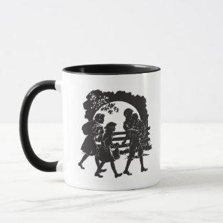 Iconic Boxcar Children Silhouette Mug