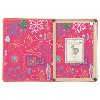 Iconic Christmas iPad Air DODOcase, Coral Cover iPad Air Cover