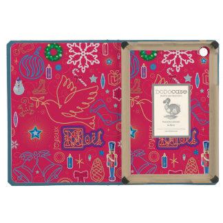 Iconic Christmas iPad Mini DODOcase, Sky Blue iPad Mini Retina Cases