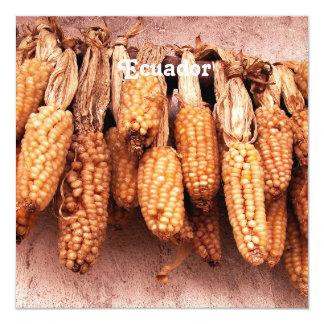 Iconic Ecuador 13 Cm X 13 Cm Square Invitation Card