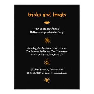Iconic Halloween Party invitation