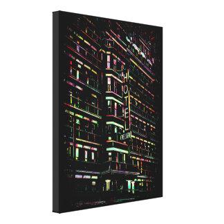 Iconic Hotel Chelsea New York Box Canvas