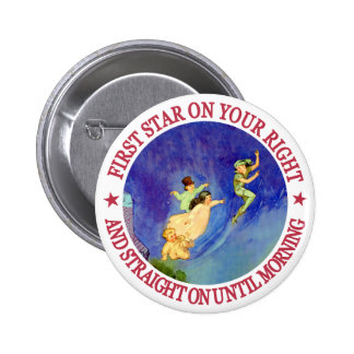 ICONIC IMAGE FROM PETER PAN 6 CM ROUND BADGE