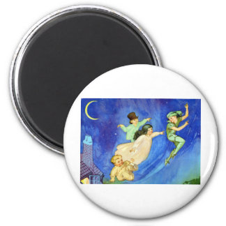 ICONIC IMAGE FROM PETER PAN 6 CM ROUND MAGNET