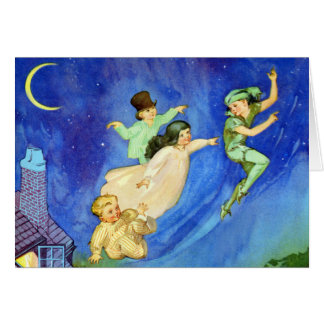 ICONIC IMAGE FROM PETER PAN CARD