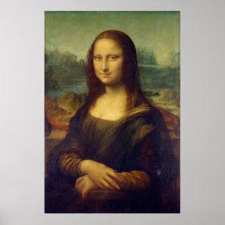 Iconic Leonardo da Vinci Mona Lisa Poster