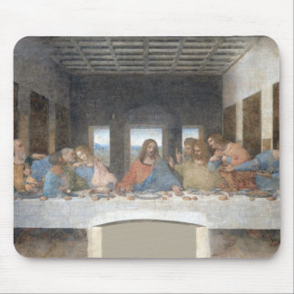 Iconic Leonardo da Vinci The Last Supper Mouse Pad