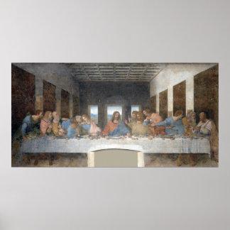 Iconic Leonardo da Vinci The Last Supper Poster