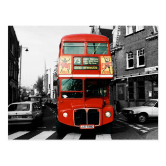 Iconic London Bus Postcard