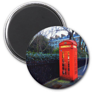 Iconic London Red Telephone Box Magnet