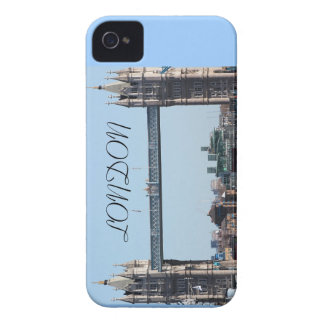 Iconic London Tower Bridge on iphone iPhone 4 Covers