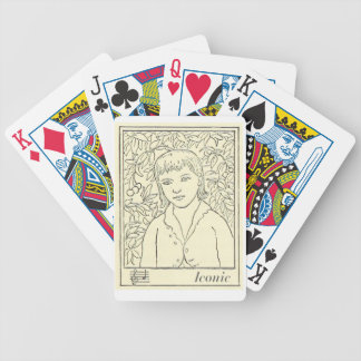Iconic Love Bicycle Playing Cards