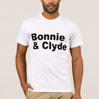 Iconic Names - Bonnie and Clyde- T-shirt