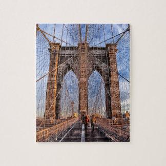 Iconic New York Landmark Brooklyn Bridge Jigsaw Puzzle