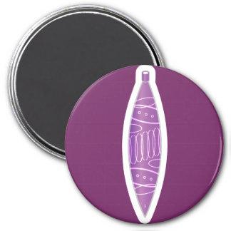 Iconic Oval Ornament Fridge Magnets