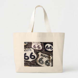 Iconic Route 66 Jumbo Tote Bag