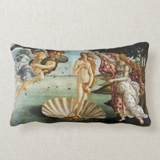 Iconic Sandro Botticelli The Birth of Venus Lumbar Cushion