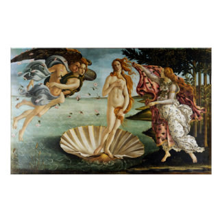Iconic Sandro Botticelli The Birth of Venus Poster