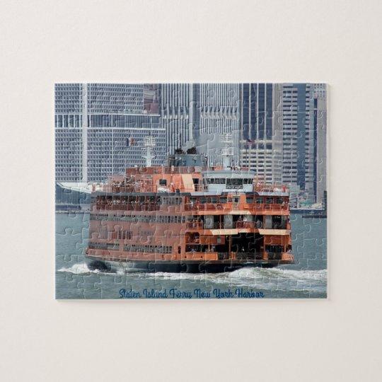 Iconic Staten Island Ferry Jigsaw Puzzle
